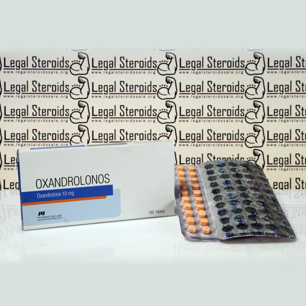 Oxandrolonos 10 mg Pharmacom Labs