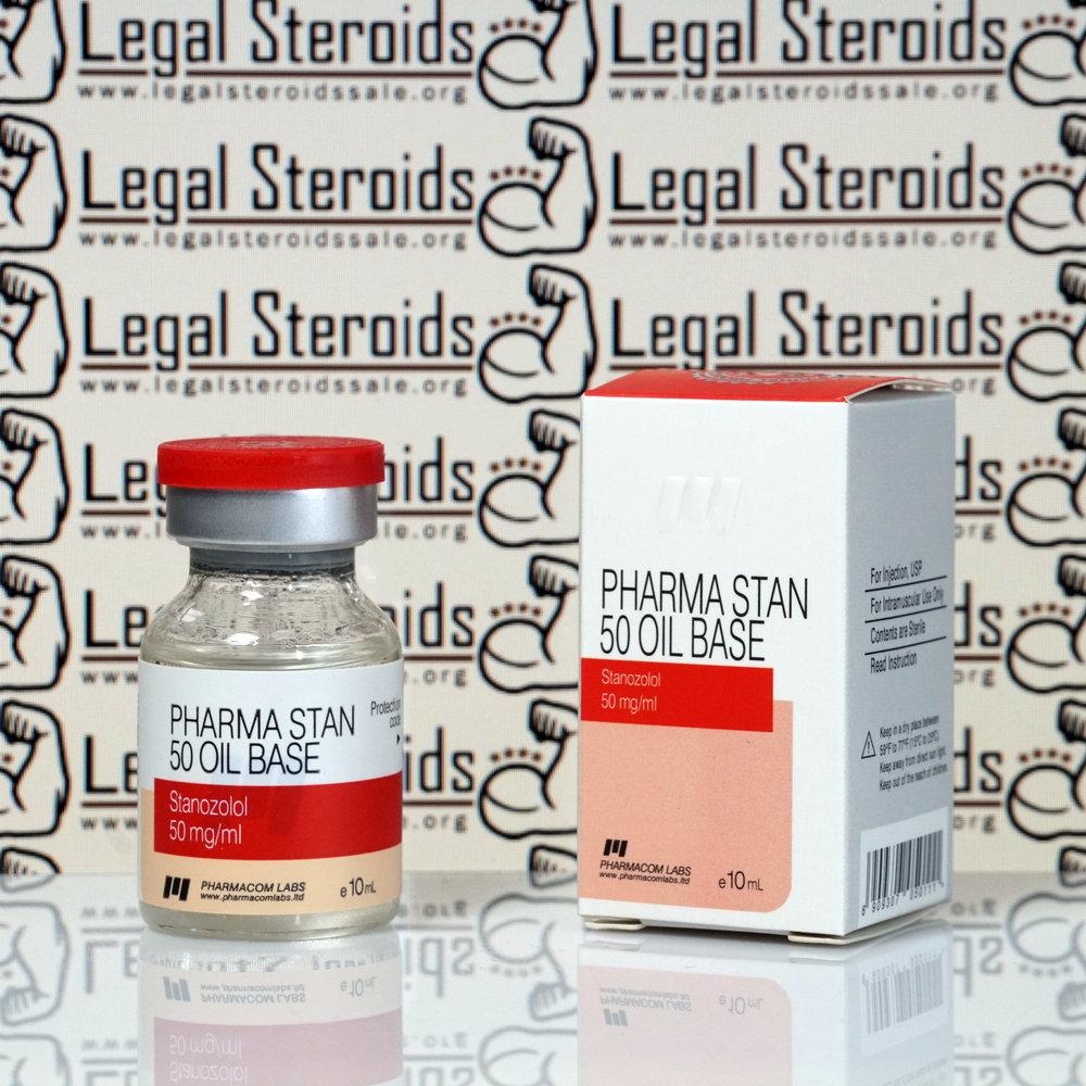 Pharma STAN 50 Oil Base 50 mg Pharmacom Labs
