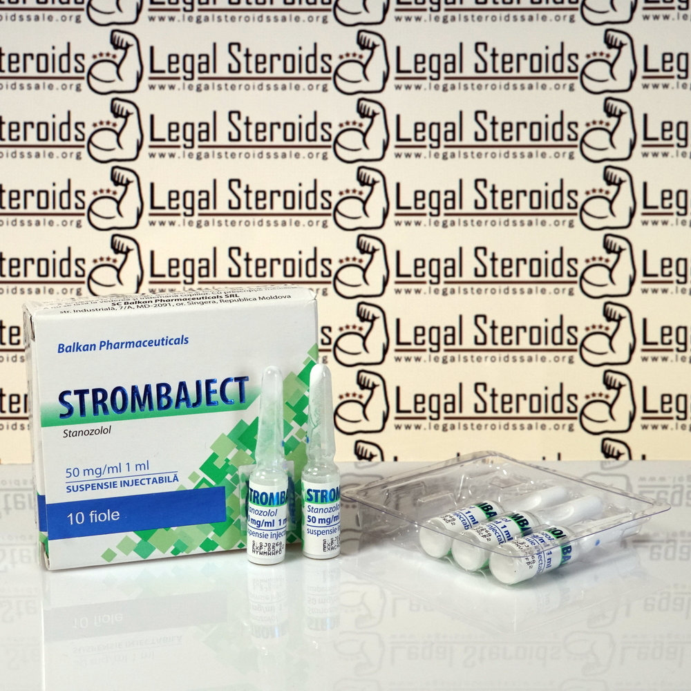 Strombaject 50 mg Balkan Pharmaceuticals