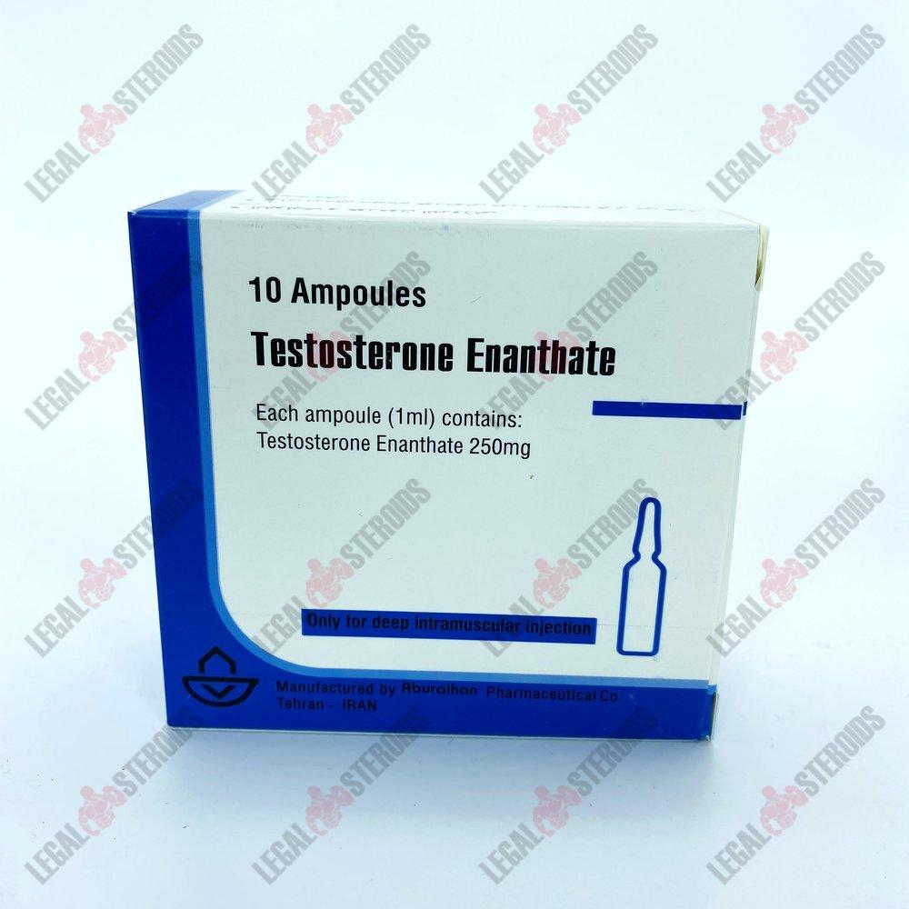 Testosterone Enantato 250 mg Aburaihan