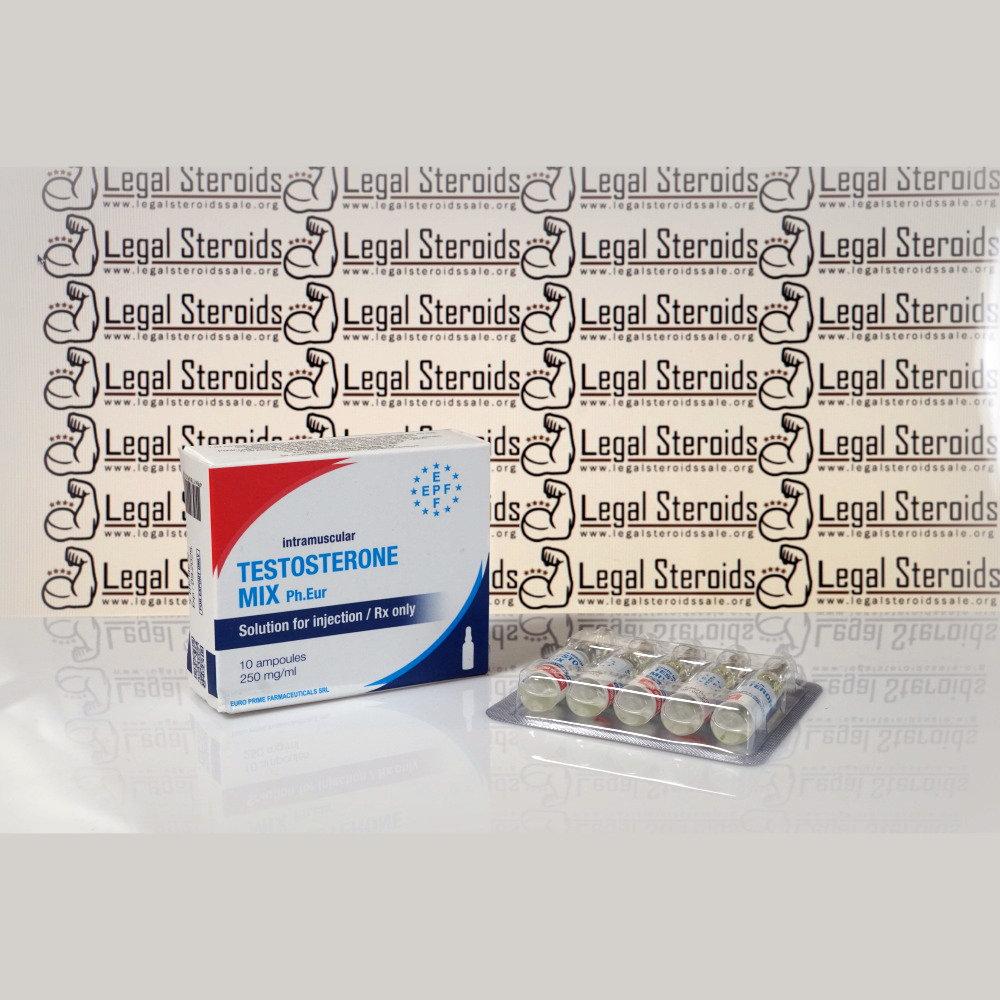 Testosterone Mix 250 mg Euro Prime Farmaceuticals