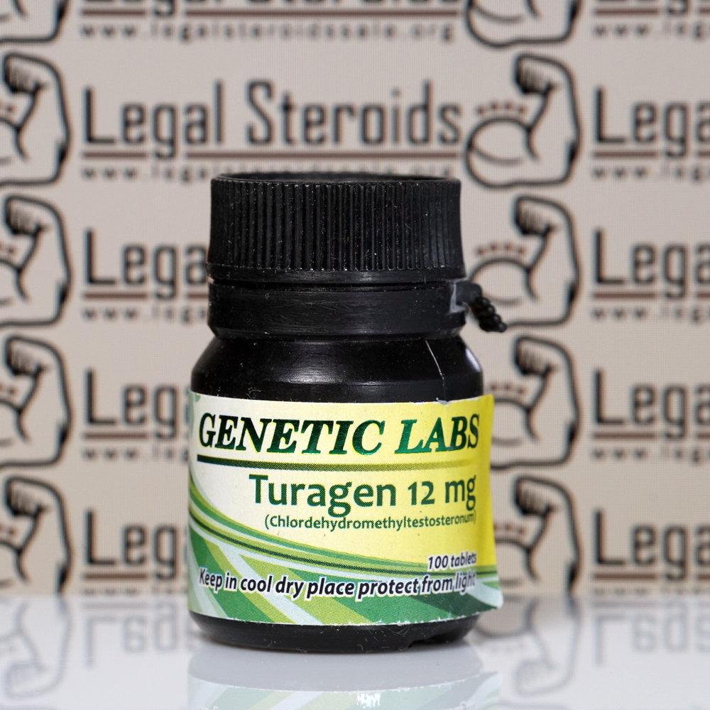 Turagen 12 mg Genetic Labs